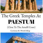 Greek temples Paestum Italy