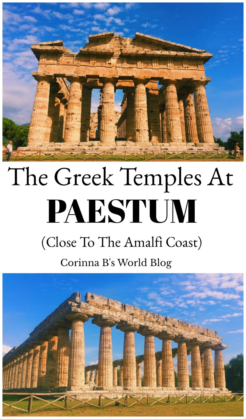 Discover The Ancient Greek Temples Of Paestum Corinna B