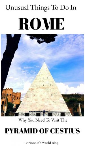 Did you know there's a pyramid in Rome?? This 2000 year old pyramid is one of the best preserved buildings from ancient Rome. Learn all about it here