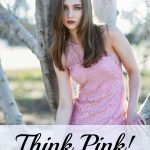 pink lace dress for speing