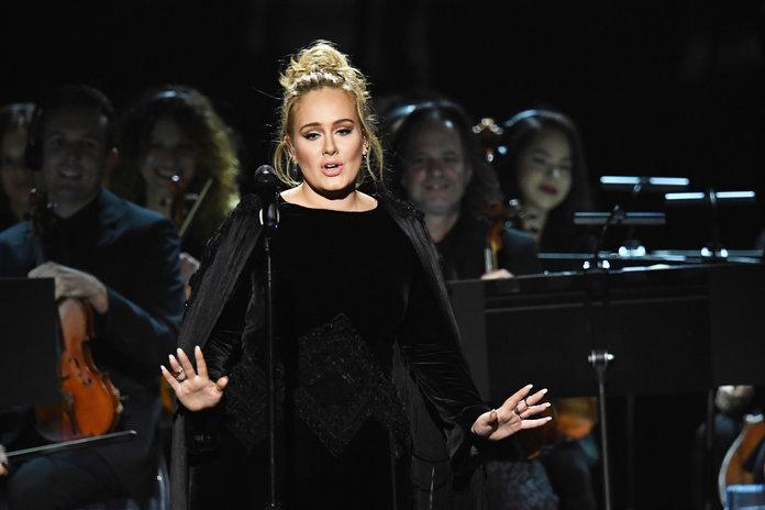 Adele-2017 Grammys