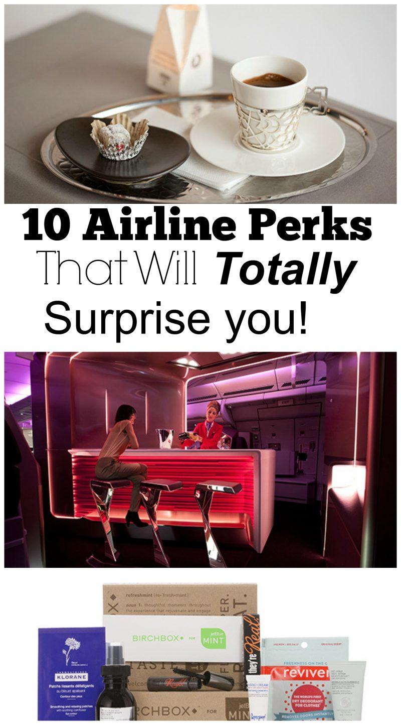 airline perks