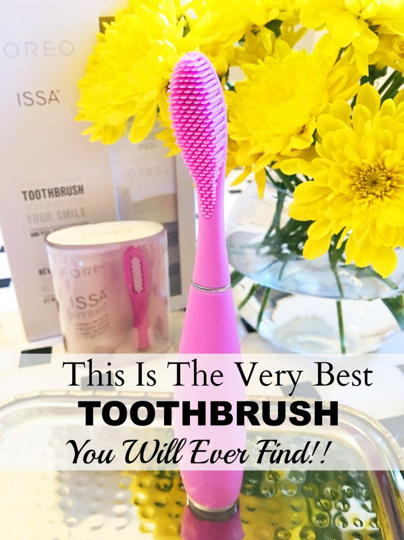 The Foreo ISSA Toothbrush