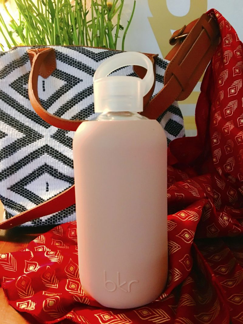BKR Glass and Silicone Water Bottle