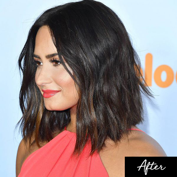 Demi Lovato new haircut