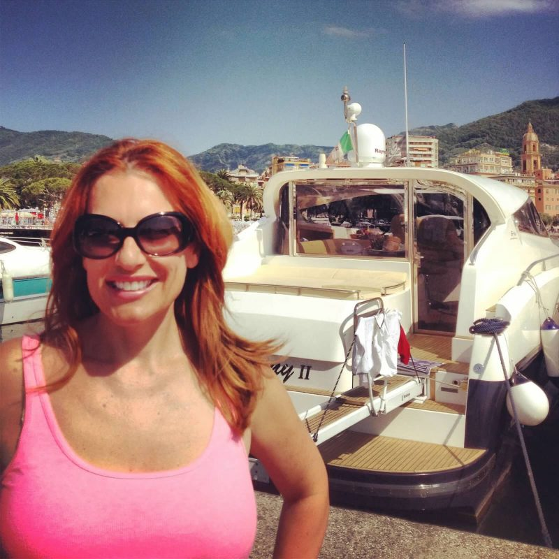 Corinna B Italian Riviera