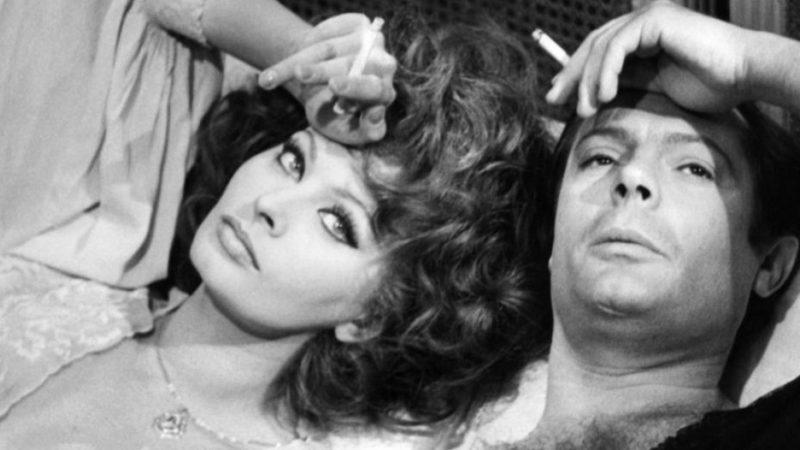 Sophia Loren Marcello Mastroanni