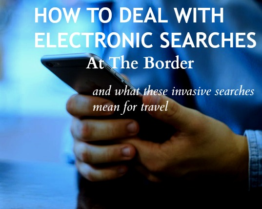 electronic searches at airport