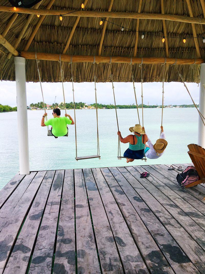 Koko Beach swings Belize