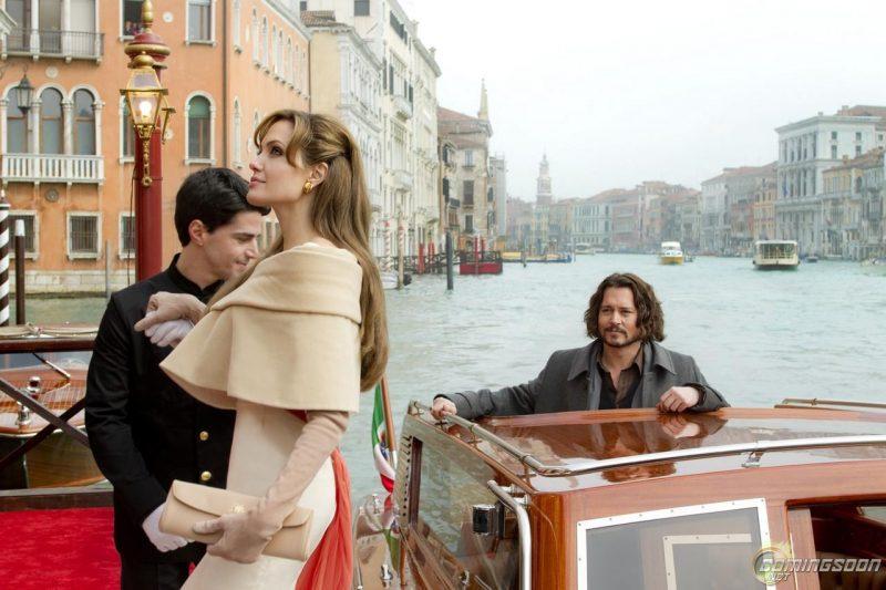 The Tourist, Angelina Jolie and Johnny Depp