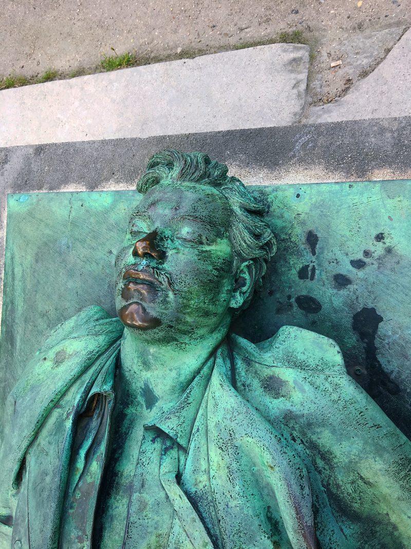 Victor Noir Pere Lachaise cemetery, Paris