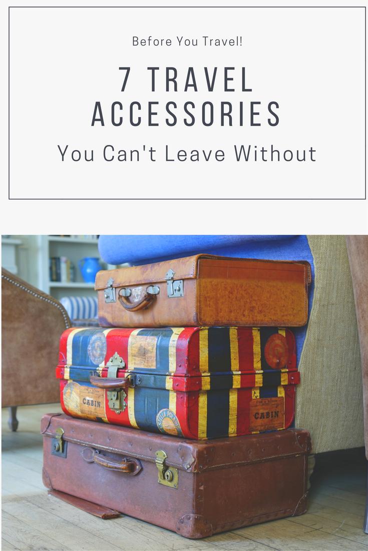 essential travel accessories