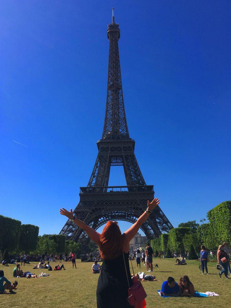 Paris Eiffel Tower Champs des Mars