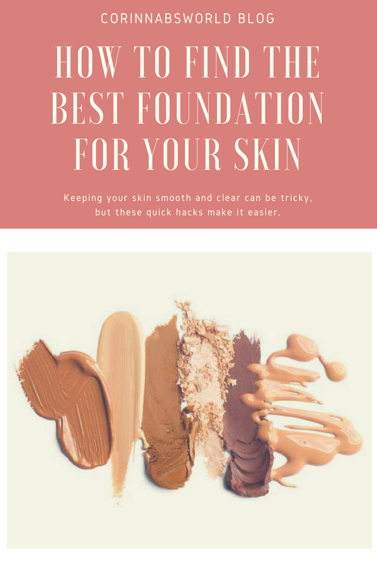 how to choose the best foundation for your skin