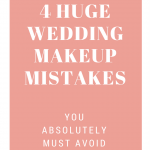 wedding makeup mistakes