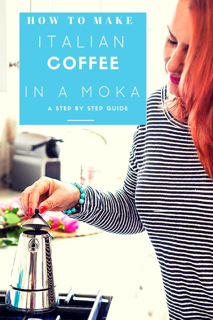 how to make coffee in a moka