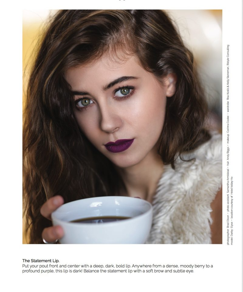 fall makeup trends statement lips