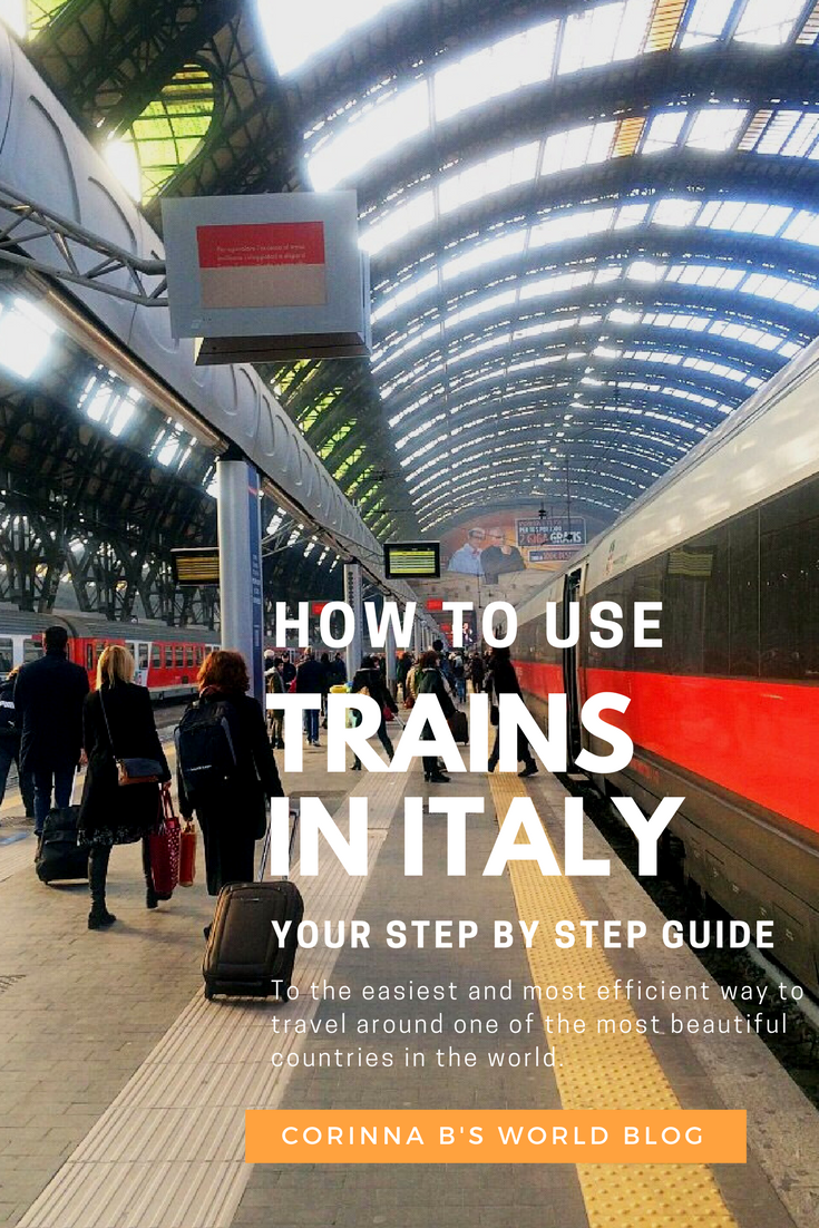 How to travel the easy way around italy by train for Italy b b