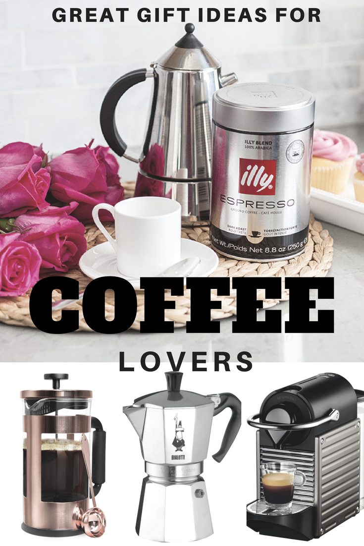 Great Gift Ideas For Coffee Lovers - Corinna B's World