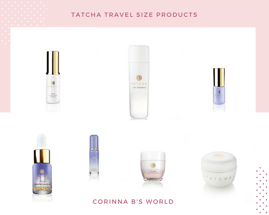 Tatcha Travel Sized Products