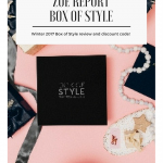 Zoe Report Box of Style discount code