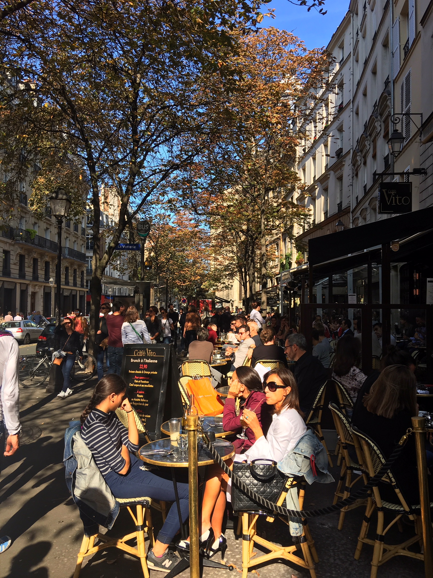 cafe paris marais