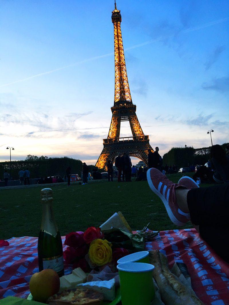 eiffel towe picnic