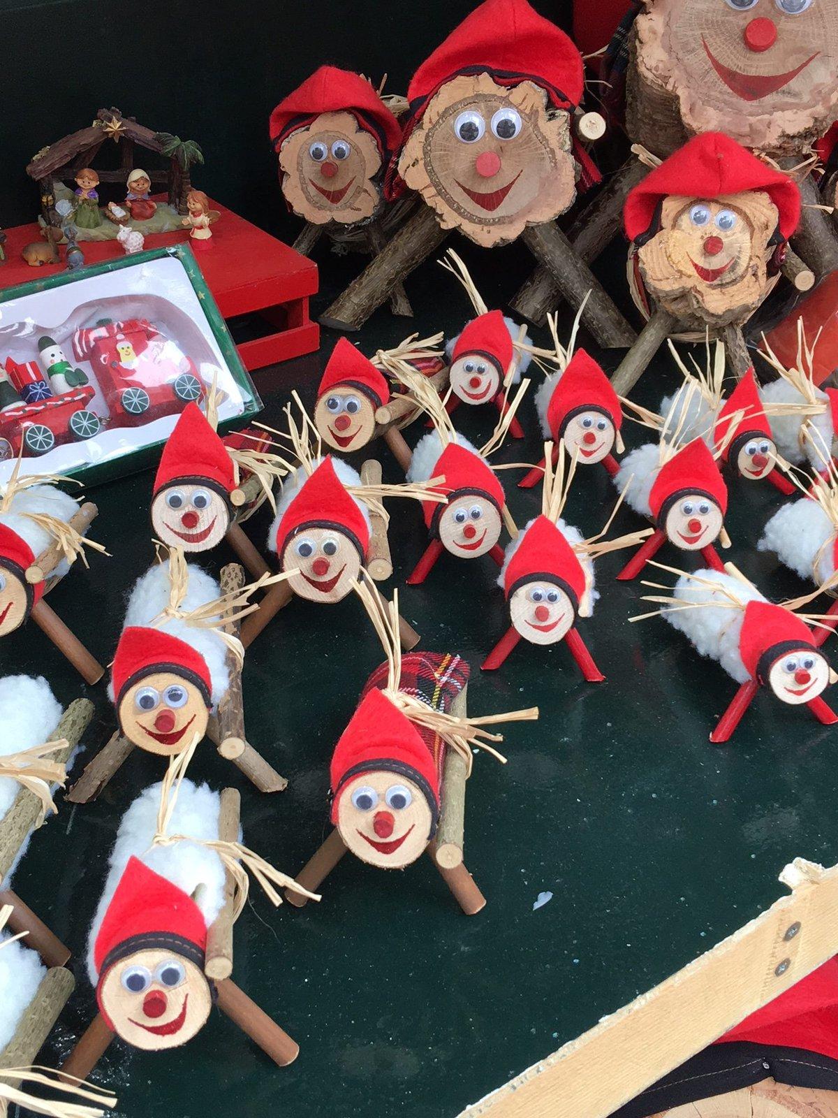 Caga Tio christmas market Barcelona