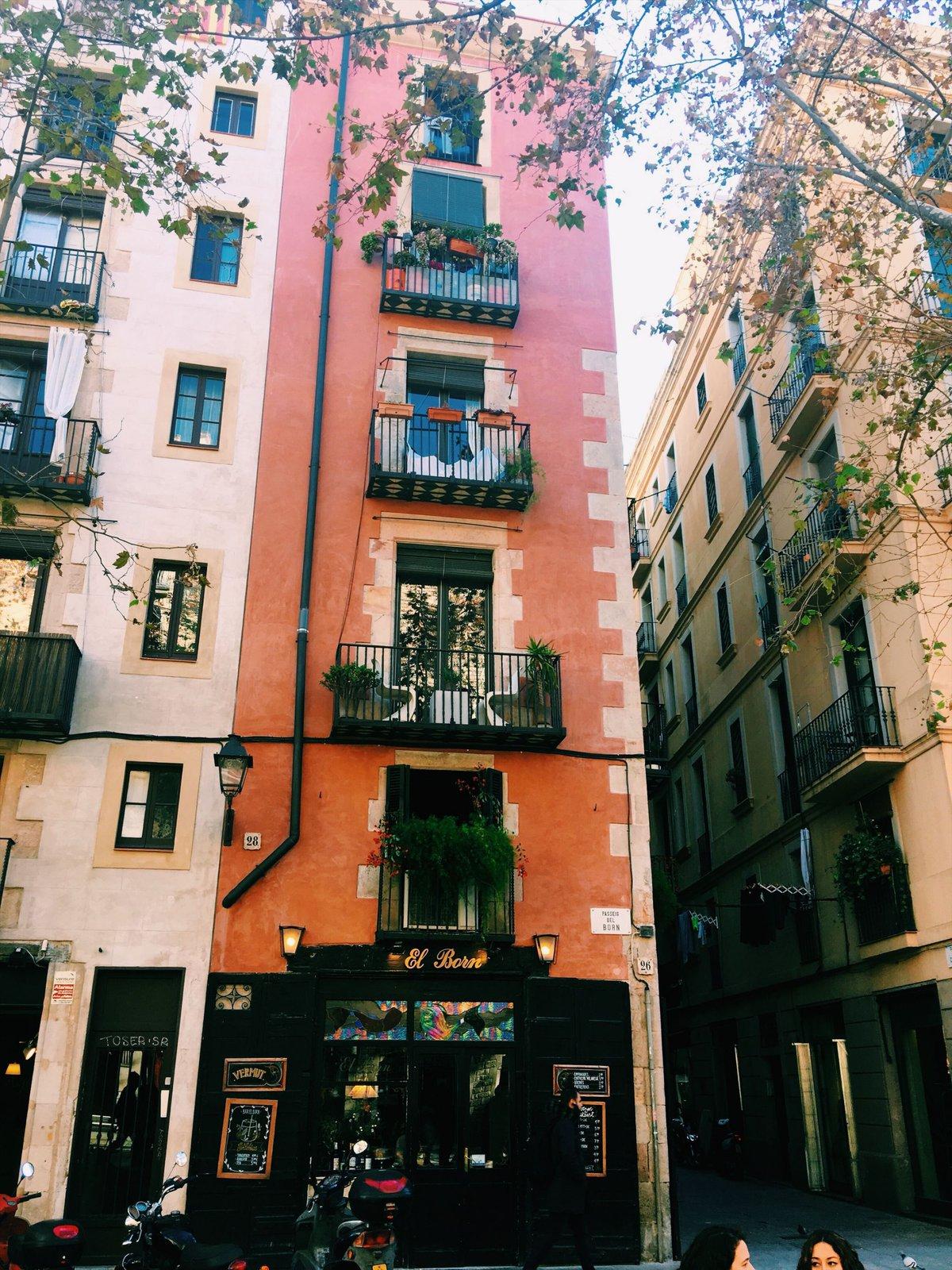 El Born district Barcelona