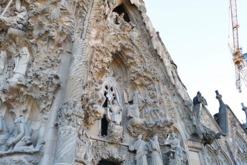Sagrada Familia Nativity Exterior