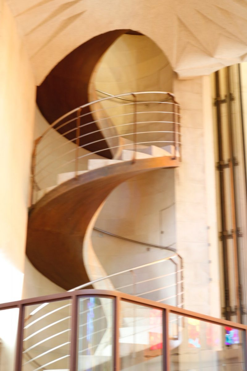 Sagrada Familia Internal staircase