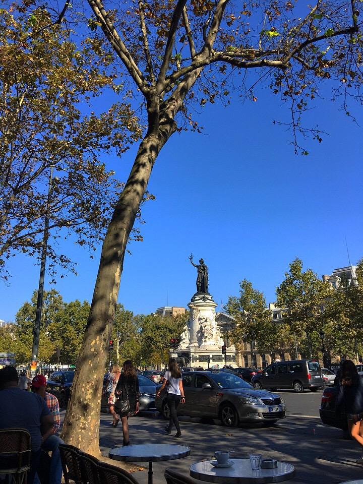 Place du Republique, Paris