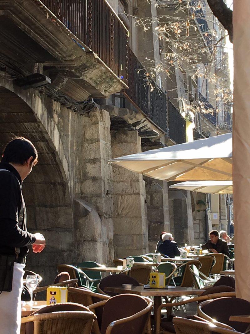 Lunch in Girona Spain