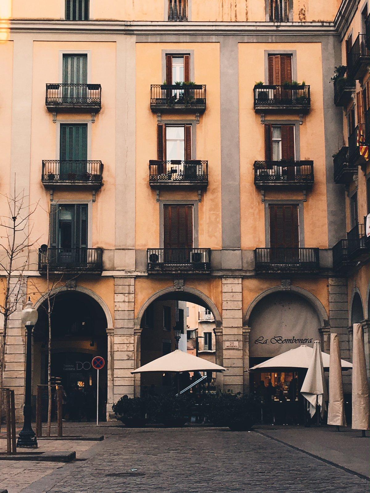 Placa Independencia Girona