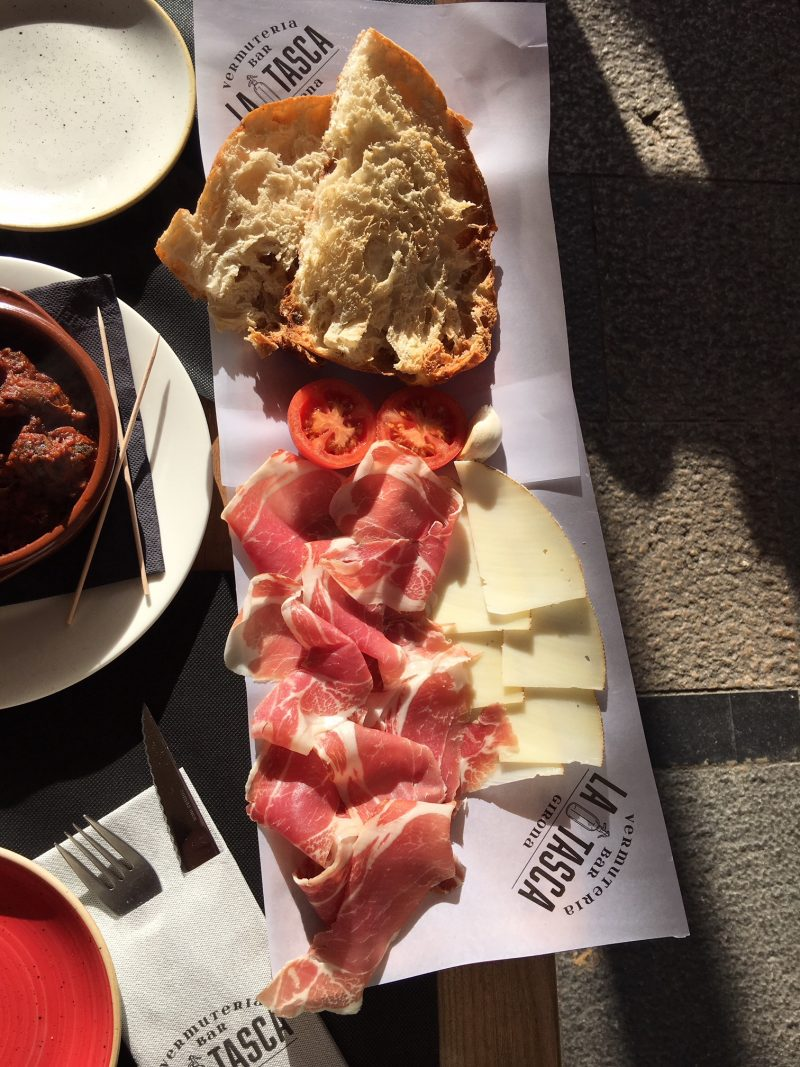 Lunch Girona Spain