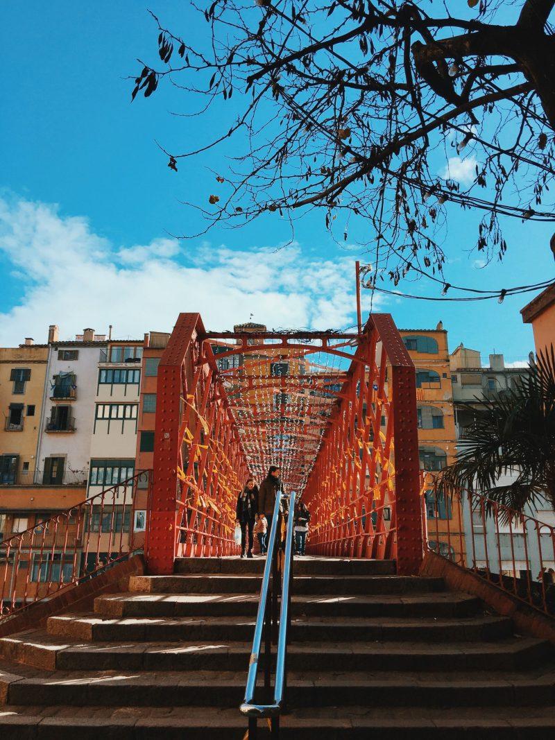 Eiffel Bridge Girona Spain