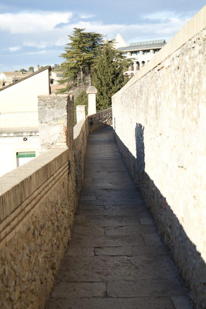 Medieval Wall Girona Spain