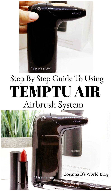 How To Use Temptu Air