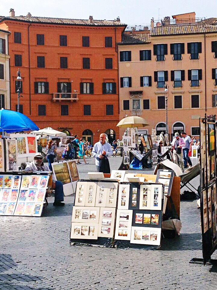 artists Piazza Navona