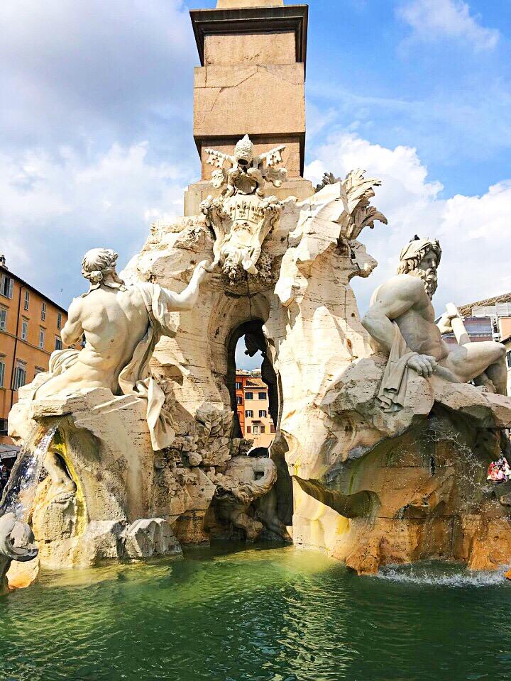 Fontana dei Quattro Fiume Piazza Navona