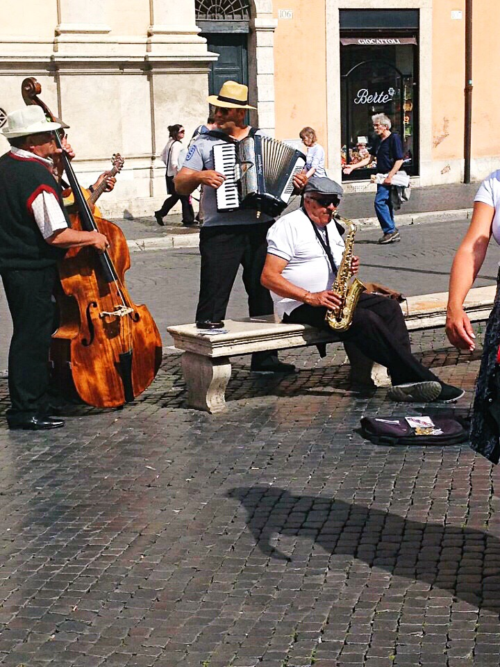 Musicians Piazza Navona