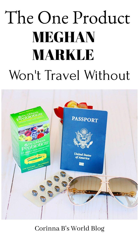 Meghan Markle Travel Essentials