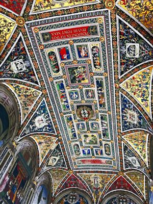Piccolomini Library ceiling, Duomo Siena