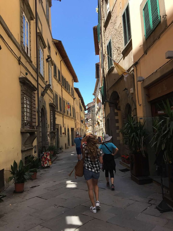 Cortona, via Nazionale