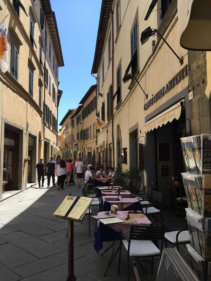 Caffe Degli Artisti, Cortona