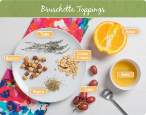 bruschetta toppings