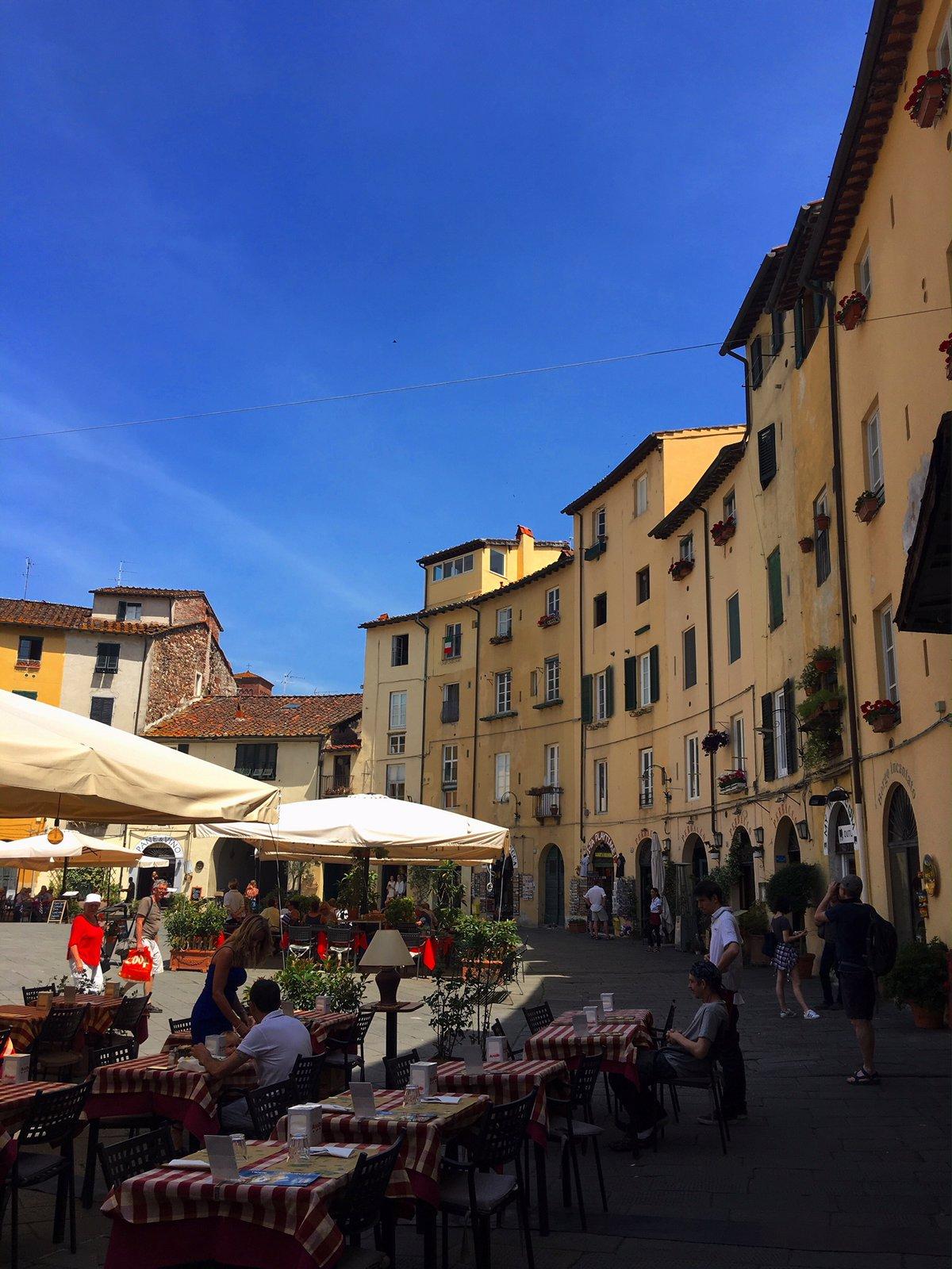 Piazza Antifeatro Lucca
