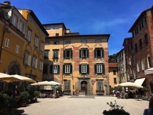 Streets in Lucca
