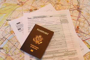 passport and taxes