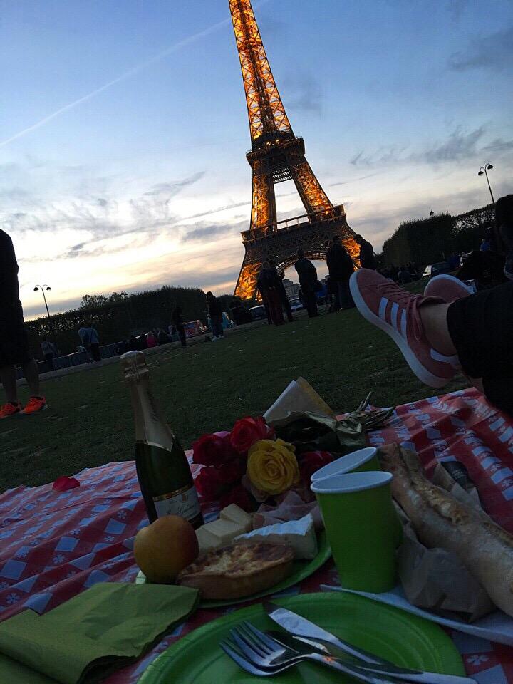 Picnic Eiffel Tower